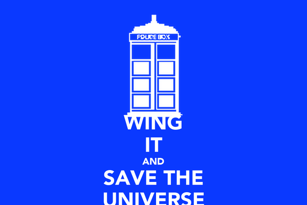 WING IT AND SAVE THE UNIVERSE