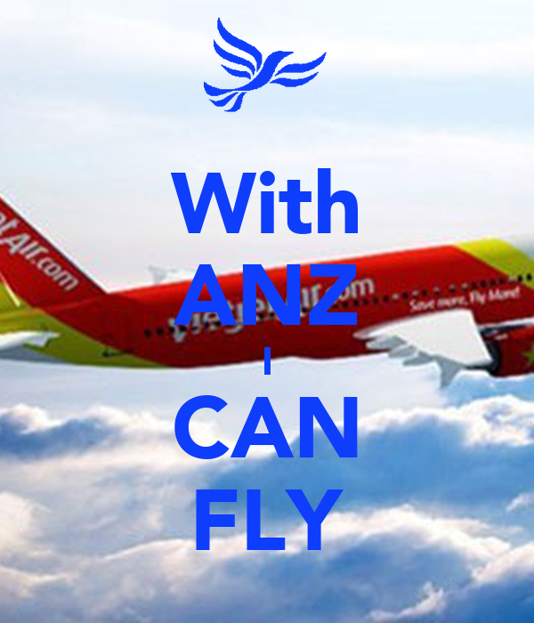 With ANZ I CAN FLY