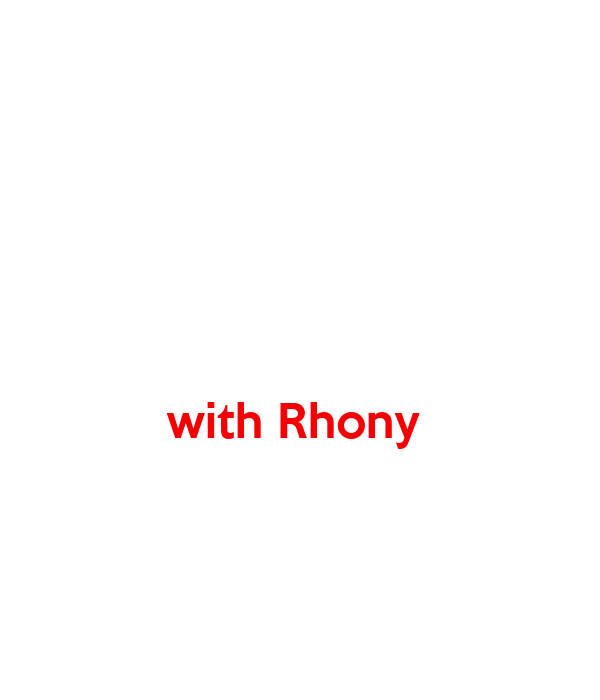 with Rhony