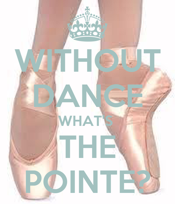 how to dance on pointe