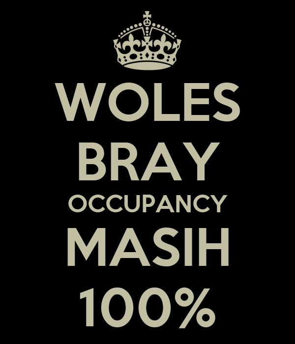 WOLES BRAY OCCUPANCY MASIH 100%