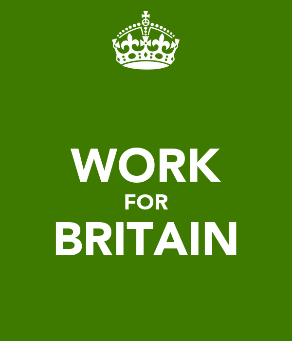 WORK FOR BRITAIN
