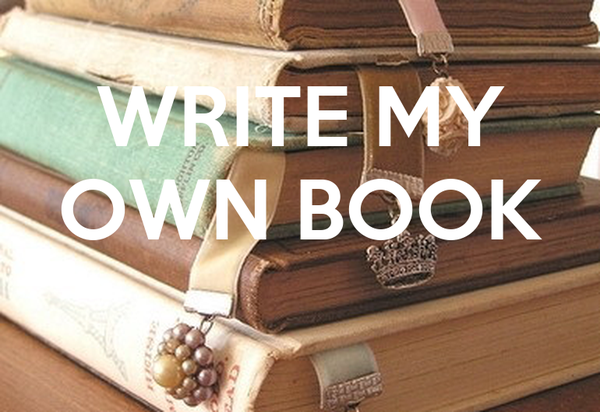 how to make my own book