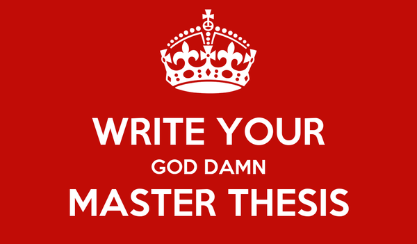Length of thesis for master degree