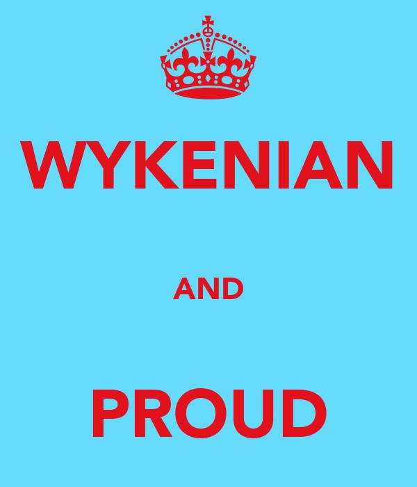 WYKENIAN  AND  PROUD