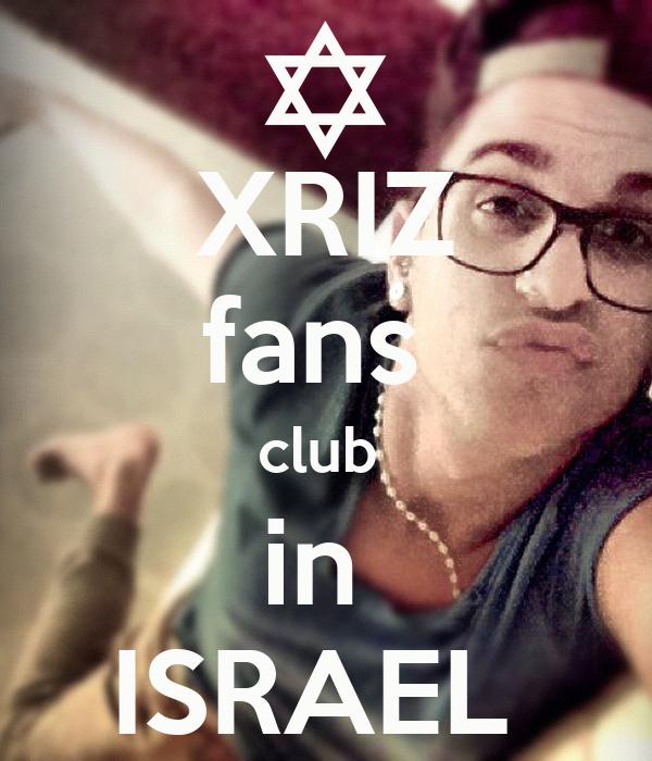 XRIZ fans  club  in  ISRAEL