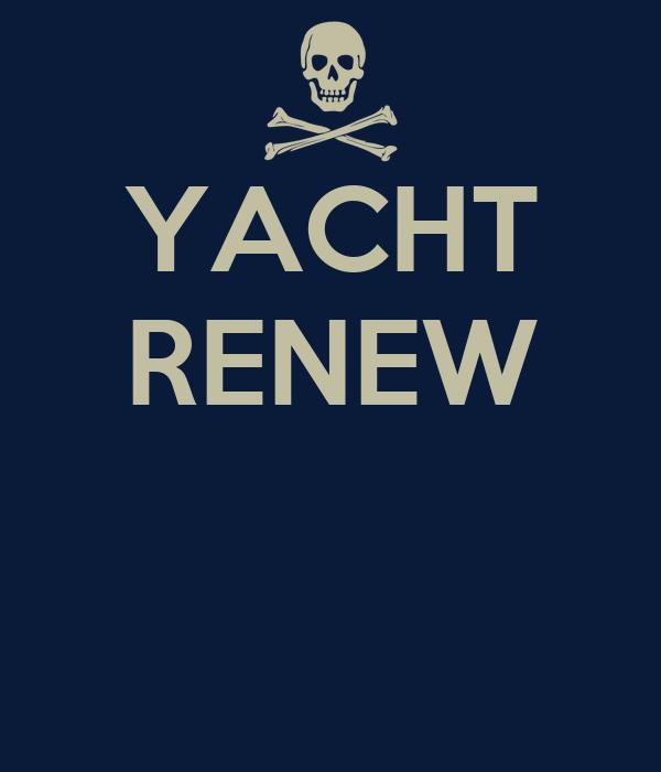 YACHT RENEW