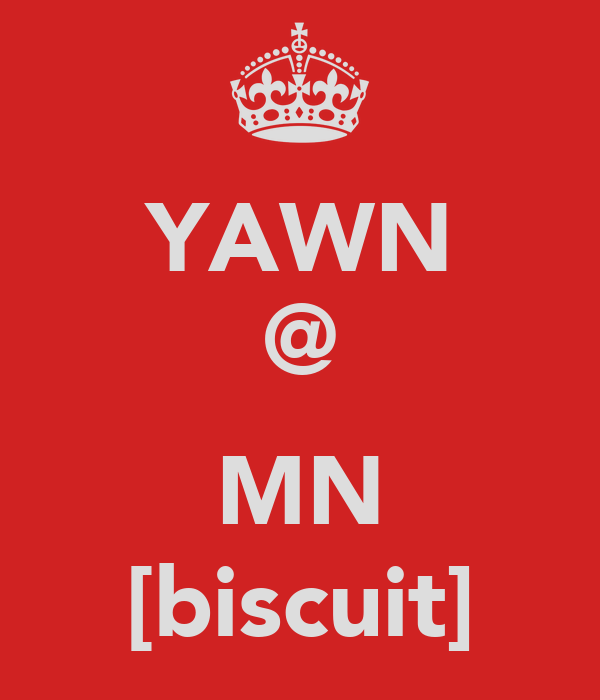 YAWN @  MN [biscuit]