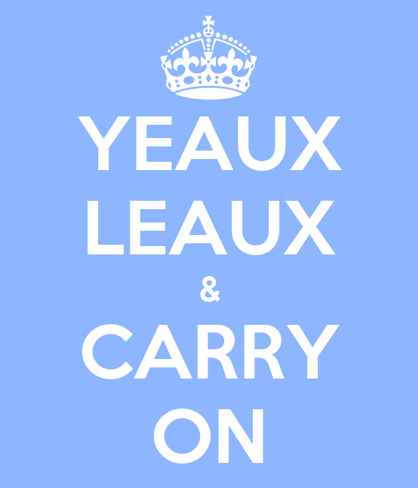 YEAUX LEAUX & CARRY ON