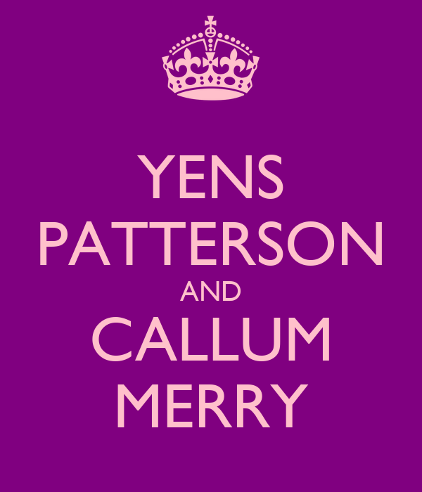 YENS PATTERSON AND CALLUM MERRY