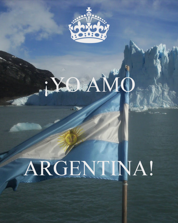 ¡YO AMO    ARGENTINA!