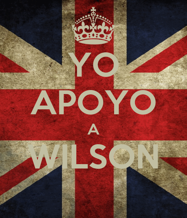 YO APOYO A WILSON