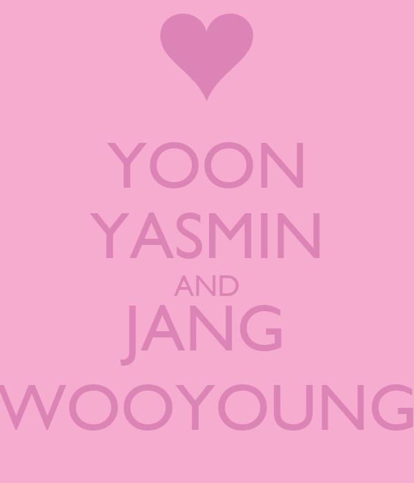 YOON YASMIN AND JANG WOOYOUNG