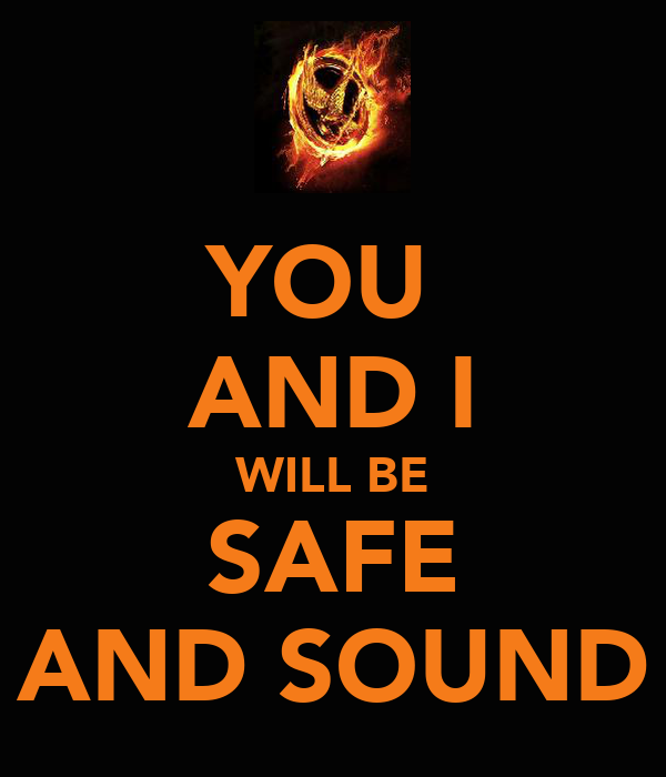 YOU  AND I WILL BE SAFE AND SOUND