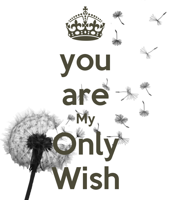 you are My Only Wish