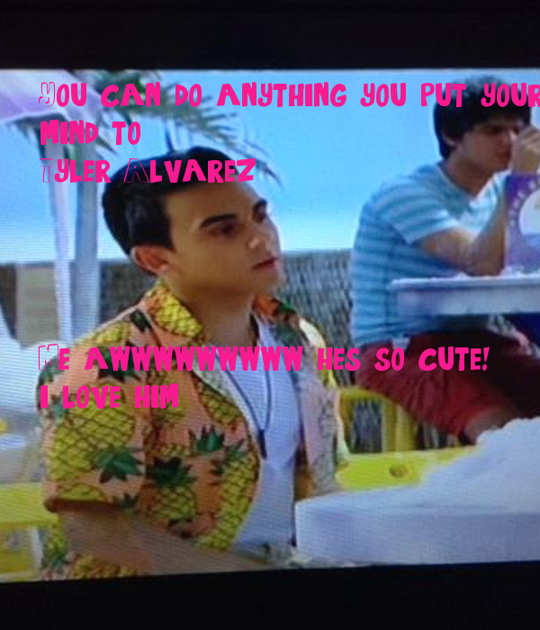 tyler alvarez every witch way