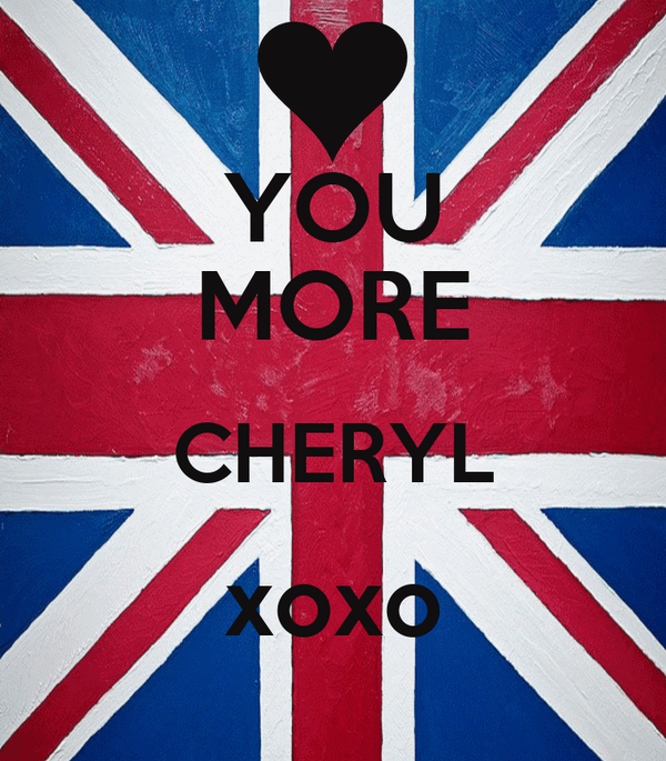 YOU MORE CHERYL xoxo