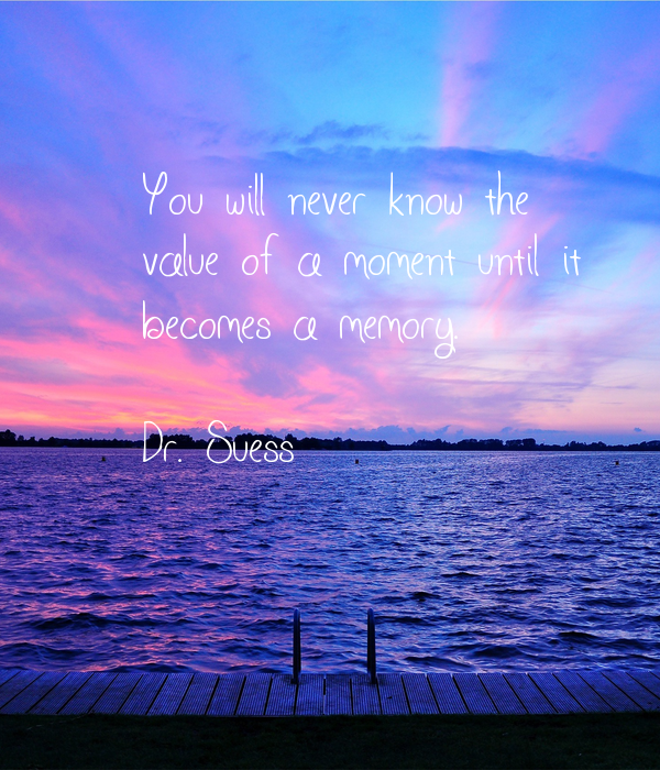 You will never know the 