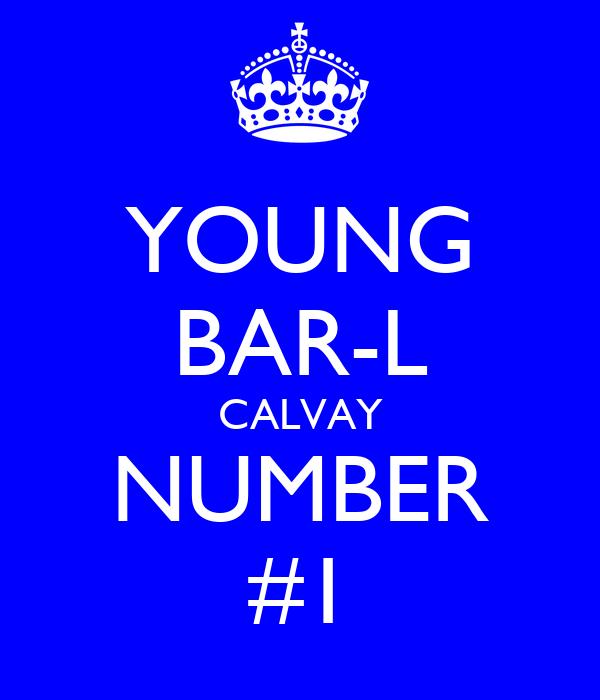 YOUNG BAR-L CALVAY NUMBER #1
