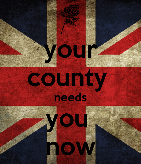 your county  needs you  now