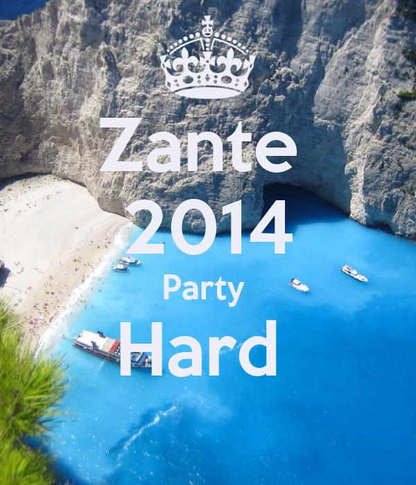 Zante  2014 Party  Hard
