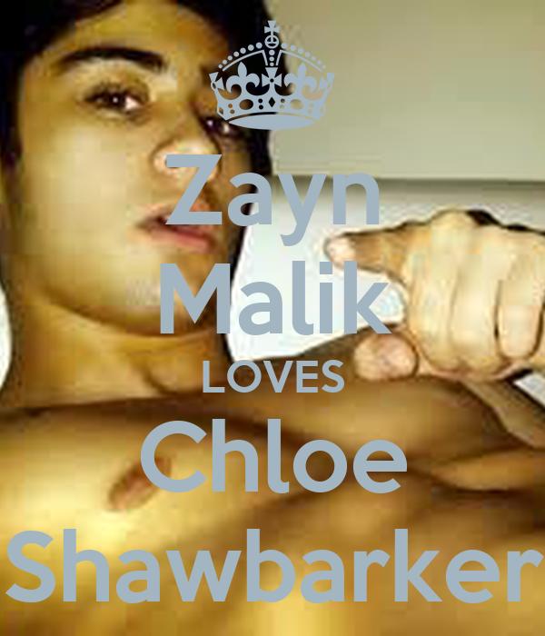Zayn Malik LOVES Chloe Shawbarker
