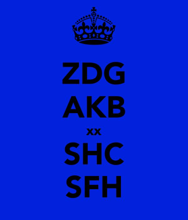 ZDG AKB xx SHC SFH