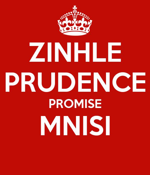 ZINHLE PRUDENCE PROMISE MNISI
