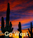 Poster:     Go West