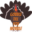 Poster:  Gobble till  you wobble