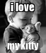 Poster: i love my kitty