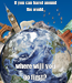 Poster: If you can travel around the world, where will you go first?