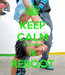 Poster: KEEP CALM 2 morrow is REBOOT