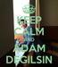 Poster: KEEP CALM AND ADAM DEGILSIN