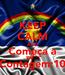 Poster: KEEP CALM AND Começa a Contagem:10
