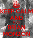 Poster: KEEP CALM AND FUCK BRIAN MONZON