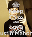 Poster: Keep Calm AND Love Austin Mahone