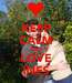 Poster: KEEP CALM AND LOVE INES