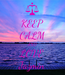 Poster: KEEP CALM AND LOVE Jazmin