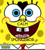 Poster: KEEP CALM AND LOVE SPONGEBOB
