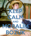 Poster: KEEP CALM AND MORALIM BOZUK