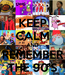 Poster: KEEP CALM AND REMEMBER THE 90'S