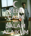 Poster: KEEP CALM AND SALAM ALAIKUM