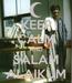 Poster: KEEP CALM AND SALAM ALAIKUM