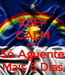 Poster: KEEP CALM AND Só Aguente Mais 5 Dias
