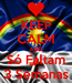 Poster: KEEP CALM AND Só Faltam 3 Semanas