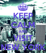 Poster: KEEP CALM AND VISIT NEW YORK