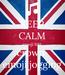 Poster: KEEP CALM emoji 100 crown  emoji jogging