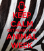 Poster: KEEP CALM GET READY FOR ANIMAL WEEK
