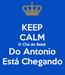 Poster: KEEP CALM O Chá de Bebê Do Antonio Está Chegando